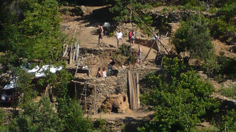 L'étonnante aventure des bâtisseurs cévenols... dans Le chantier médiéval p1110299