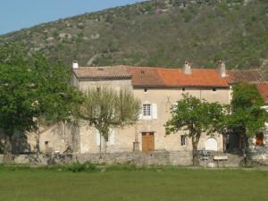 Le château de Vissec