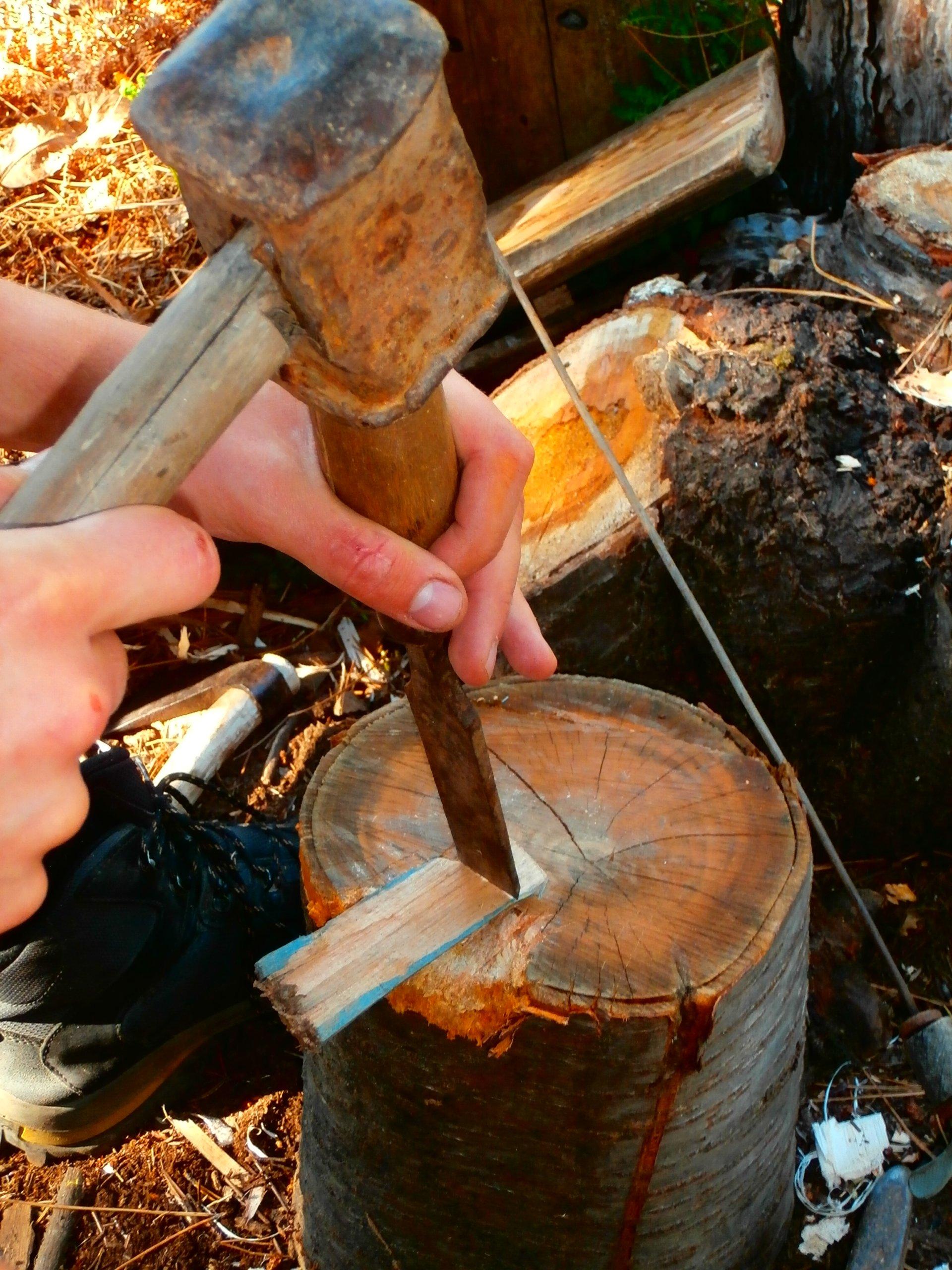Atelier à bois