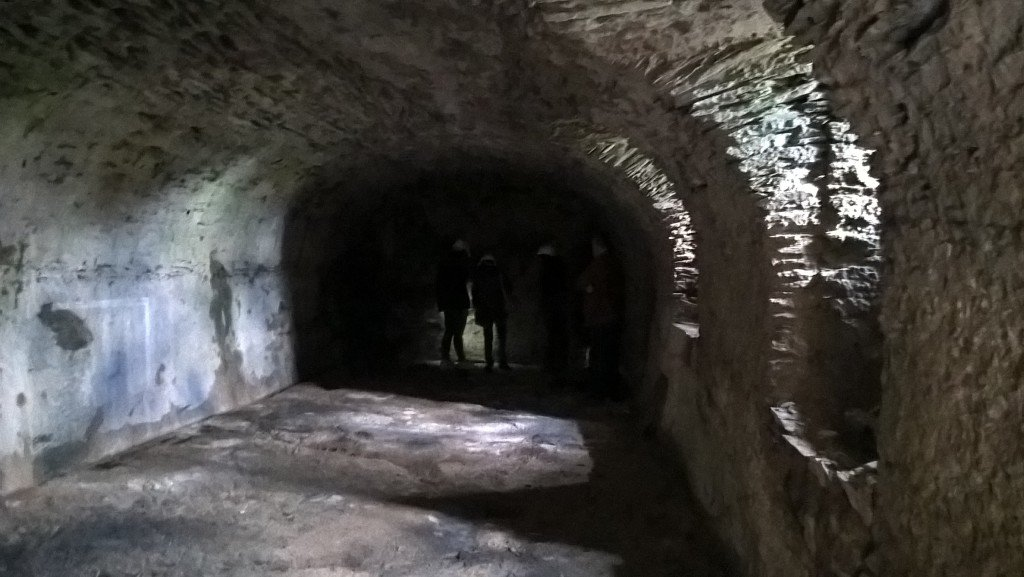 La cave troglodyte du château