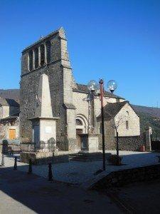 Eglise Saint-Martin d'Aujac